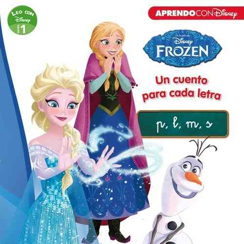 libros para aprender a leer de Disney Frozen