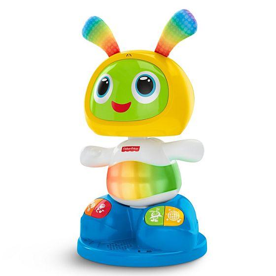 robot robi juguetes para estimular el habla