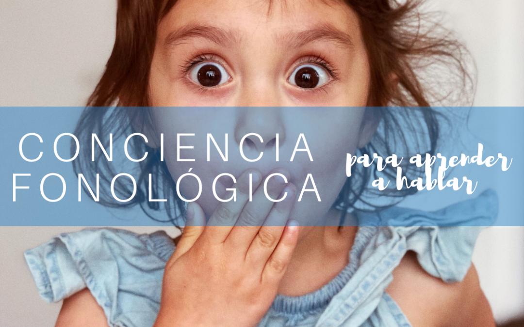 conciencia fonológica aprender a hablar